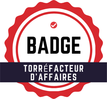 Badge - Torréfacteur d'affaires